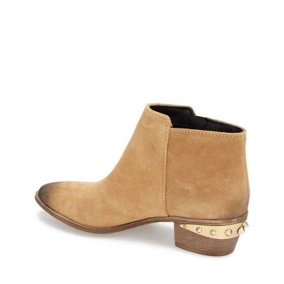 284ca1445 Circus by Sam Edelman Shoes - Sam Edelman Holt Suede Booties Gold Spikes  Shoes
